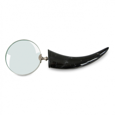 HORN-HANDLE-MAGNIFYING-GLASS