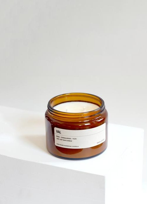 Amber Jar Soy Candle – Val  500g