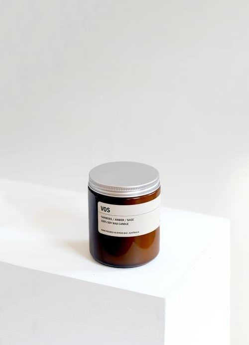 Amber Jar Soy Candle – Vos 250g