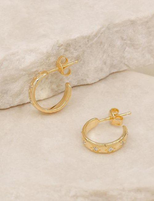 Align Your Soul Hoops Gold By Charlotte 2