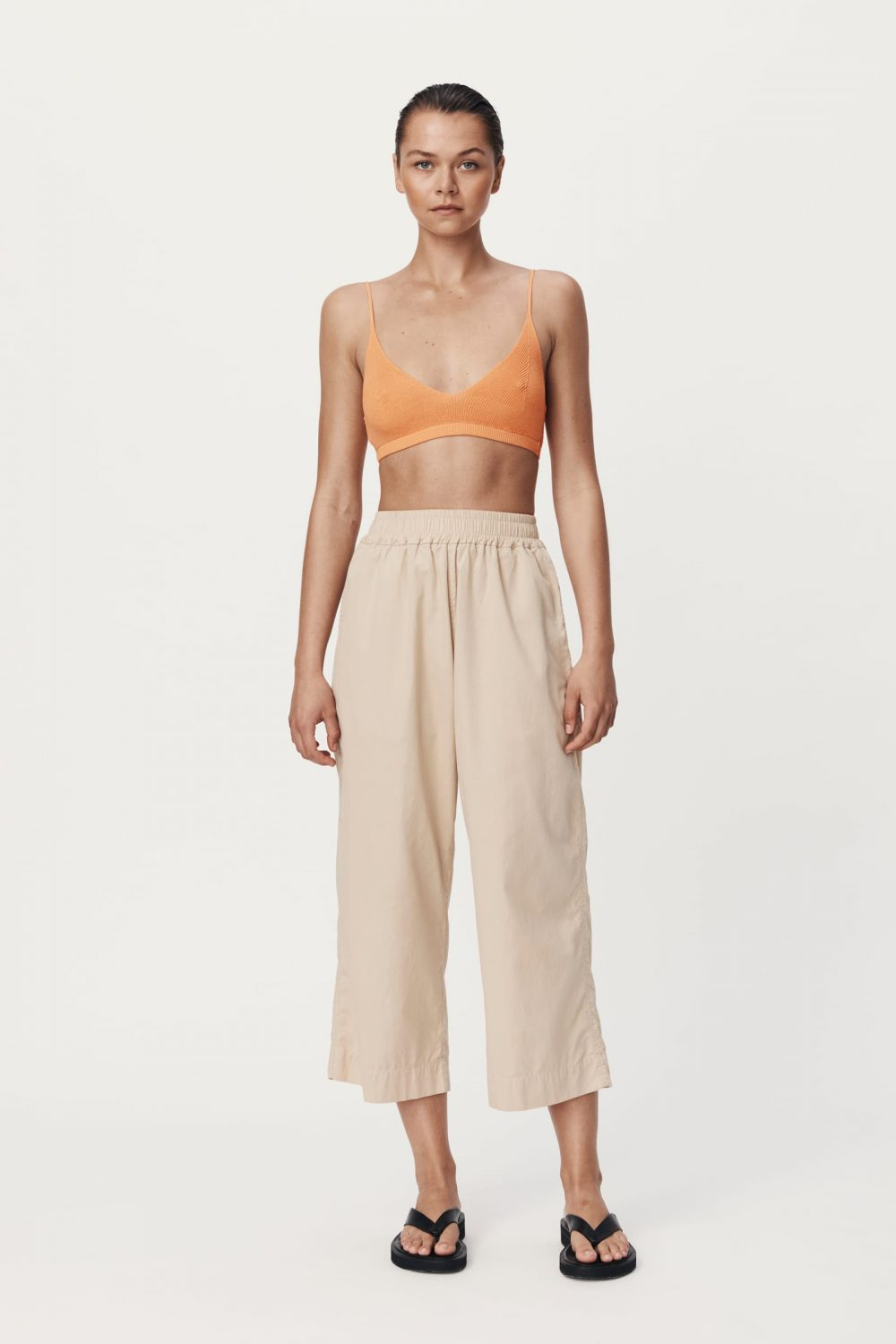 Rowie The Label Rs21 Popf Phillip Organic Pant Fawn Spring21 0131