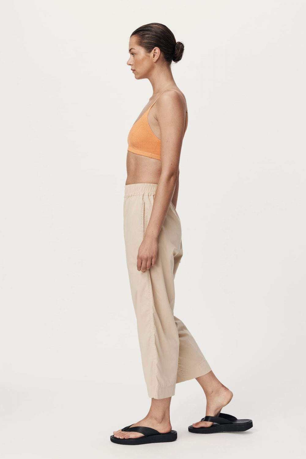 Rowie The Label Rs21 Popf Phillip Organic Pant Fawn Spring21 0141