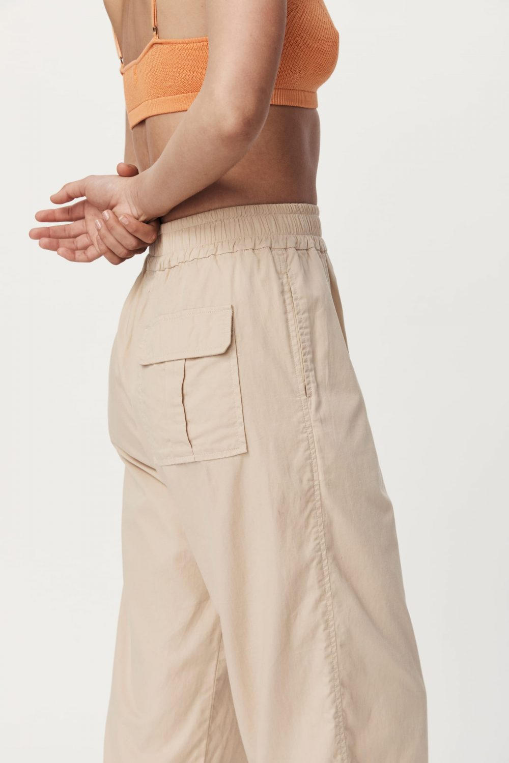 Rowie The Label Rs21 Popf Phillip Organic Pant Fawn Spring21 0151