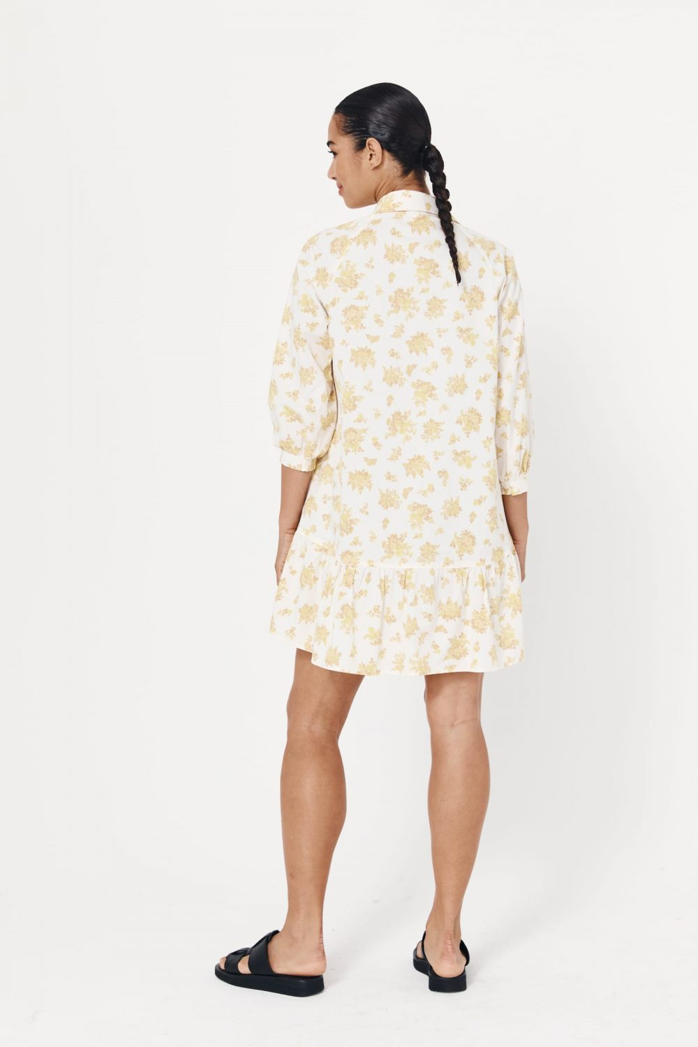 Rowie The Label Rs21 Sodbl Stacey Organic Mini Dress Blossom Spring21 1065