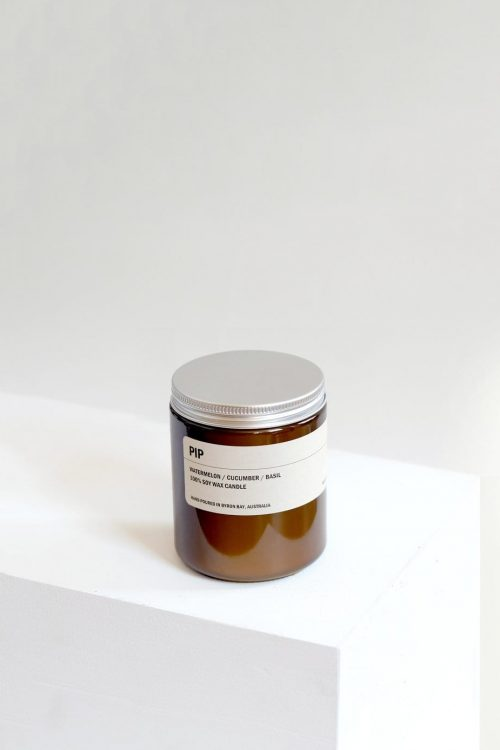 Amber Jar Soy Candle – Pip 250g