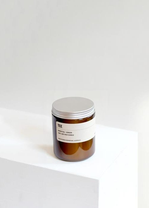 Amber Jay Soy Candle – Tee  250g