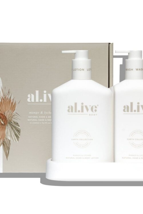 Al Ive Body Mango And Lychee Duo