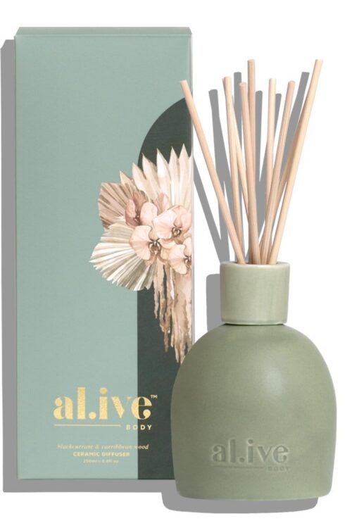 Alive Blackcurrant And Caribbean Wood Diffuser