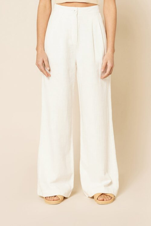 Blair Tailored Pant Nude Lucy White