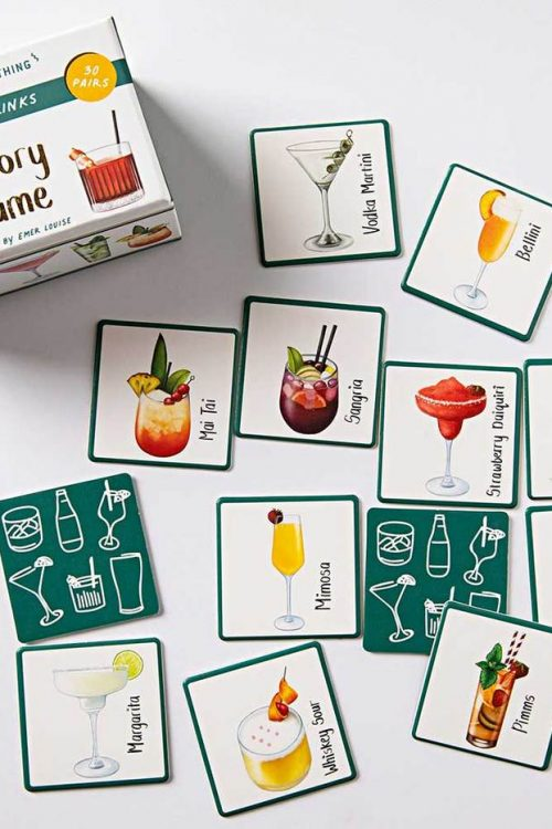 Memory Game Guess The Drink