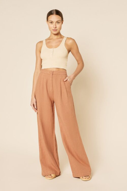 Nude Lucy Blair Tailored Pant Henna