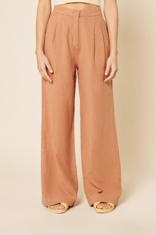 Nude Lucy Blair Tailored Pant Henna Rust
