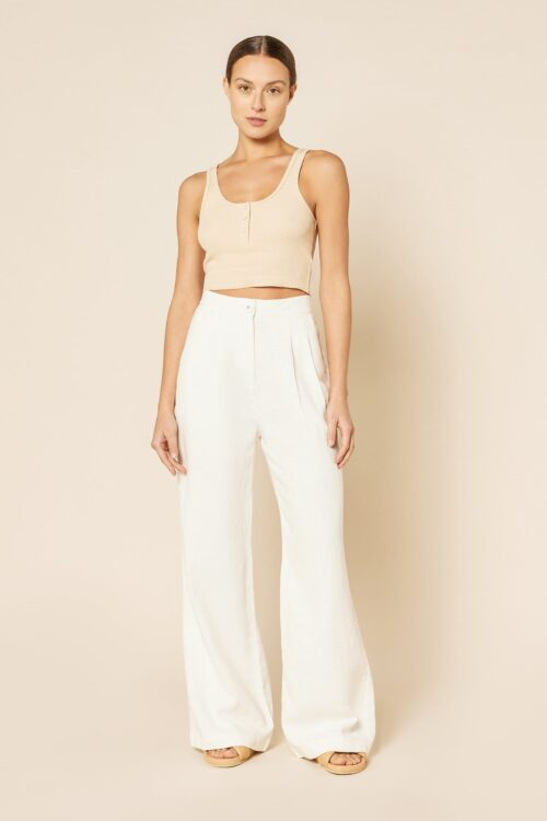 Nude Lucy Blair Tailored Pant White