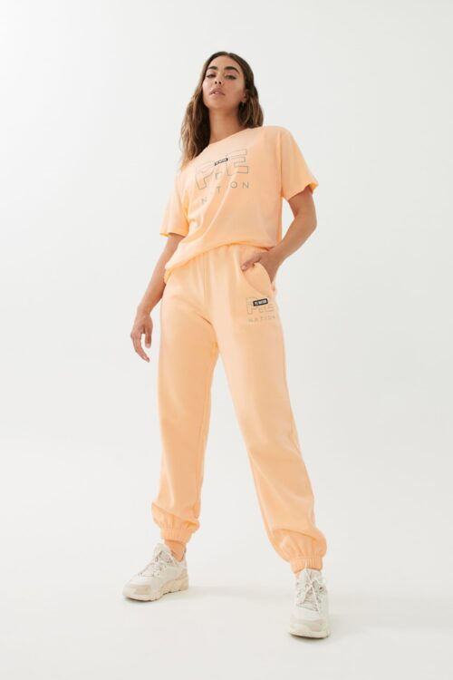 Pe Dnation Heads Up Tee Pastel Peach