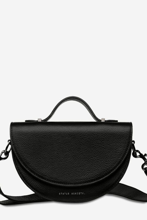 Status Anxiety Bag All Nighter Black Front