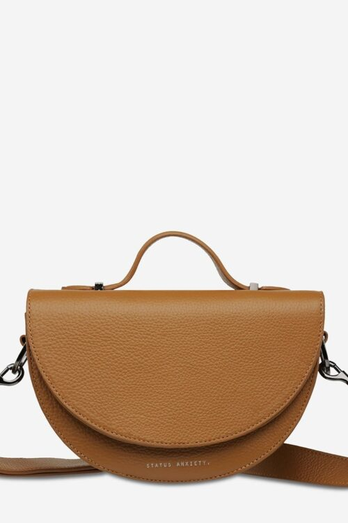 Status Anxiety Bag All Nighter Tan Front